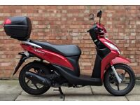 Honda Vision 110cc (15 REG), Immaculate condition, One owner, Only 1300 miles!