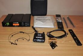 Line 6 XD-V75 Headset Wireless Microphone System with case - as new