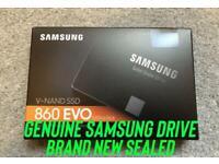 "SAMSUNG EVO 860 2.5"" Internal SSD - 500 GB."