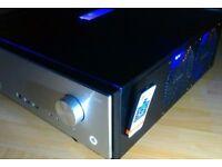 14 cm tall low-profile Custom Build brushed aluminium Antec Fusion 430. Intel QUAD Core PC [HTPC]