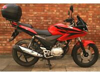 Honda CBF 125, Mint condition with 592 miles