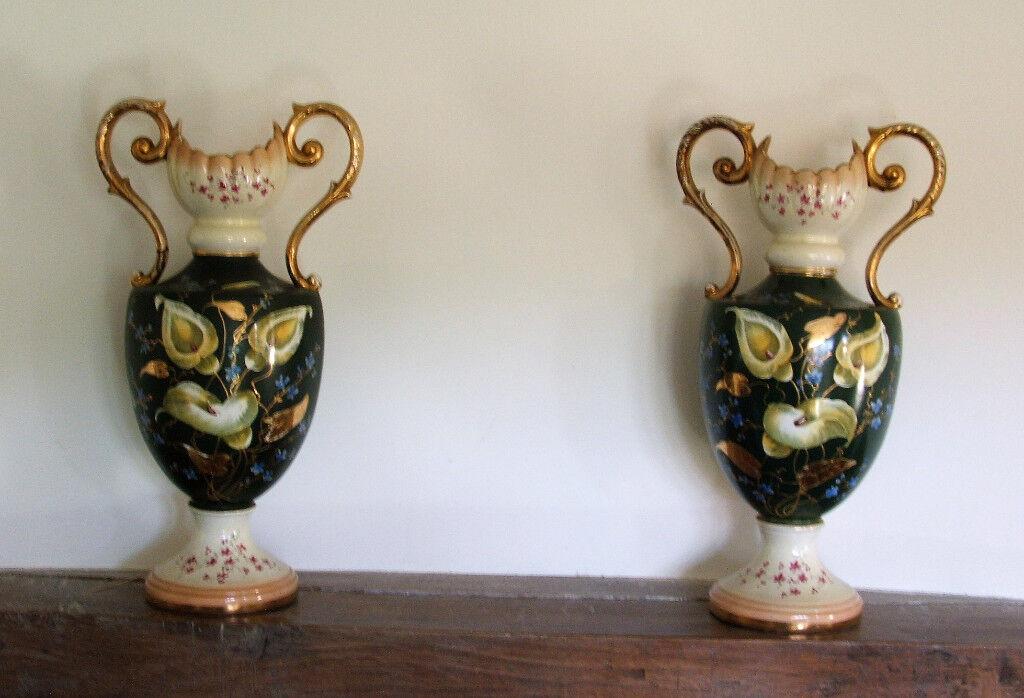 Large Antique Vases Bargain To Clear In Blandford Forum Dorset