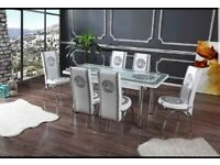 ✨✨MAGA SALL EXCELLIENT CHOICH BES QUALITY TURKISH DINING TABLE WITH 6/4 CHAIRS🎉🎉