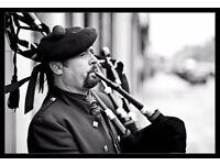 Somerset wedding Piper, funerals, corporate hire...35 years experience.