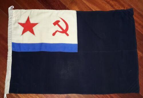 Big 100x64cm Military Russian USSR fleet submarine naval FLAG jack 1981