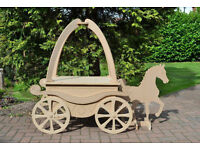 Horse & Carriage Sweet Cart For Sale- Candy Cart-weddings