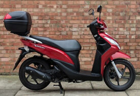 Honda Vision 110 in red, Excellent condition! Only 2156 miles! 3 months warranty!!