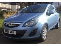 Vauxhall Corsa S Ecoflex 3dr (blue) 2014