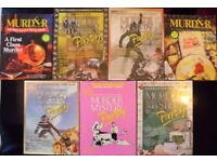 7 'Murder Mystery Party' Audio Cassette Games (new)