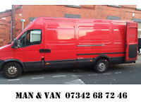Man and Van - Removals - Student Removals - Office Removals - 15 Pound per h (min 2h) 25 Pound AtoB