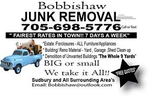 Junk Removal by Bobbishaw