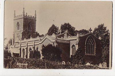 Enderby Church Leicestershire Vintage RP Postcard 346b
