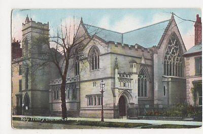 Holy Trinity Church Leamington Postcard, B113
