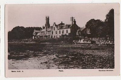Row Rhu Dunbartonshire Vintage RP Postcard 377a