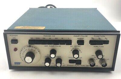 Vintage Dana Exact Model 121 Sweep Function Generator