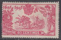 Quijote 262 - Año 1905 - 40 C. Rosa - Nuevo Con Goma Original -  - ebay.es