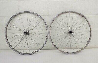 "Vintage 32-Spoke 26"" Mtn Bike Wheelset Specialized GX26 Rims Deore MT60 Hubs"