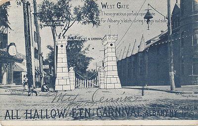 Albany NY * All Halloween Carnival 1905  West Gate  * RARE  Unusual  Oct 31](Ny Halloween)