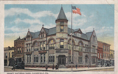 County National Bank   Clearfield   Pennsylvania   00 10S