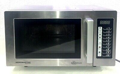 Menumaster Mms10ts Medium Duty Stainless Steel Commercial Microwave