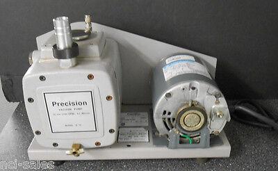 Precision Rotary Vane Vacuum Pump D-75