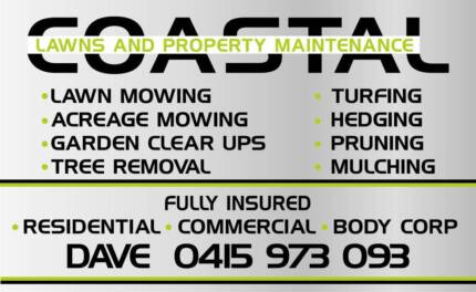 COASTAL LAWNS AND PROPERTY MAINTENANCE Mooloolaba Maroochydore Area Preview