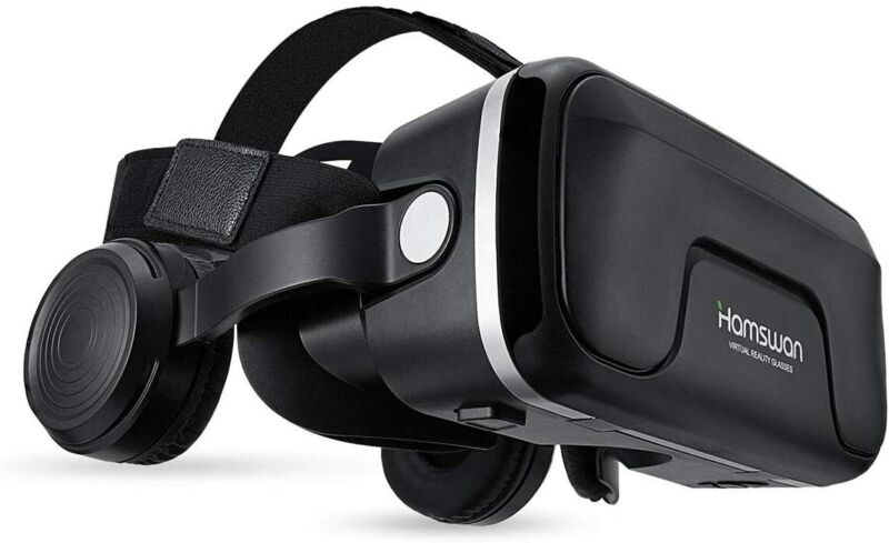 VR Headset Virtual Reality 3D Goggles For iPhone 6 6S 5 5S Plus Samsung S7 S8 S9