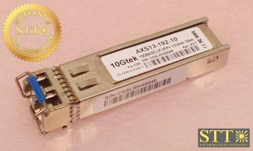 Axs13-192-10 10gtek 10gbase-lr Sfp+ 10km 1310nm Lc Sm Transceiver