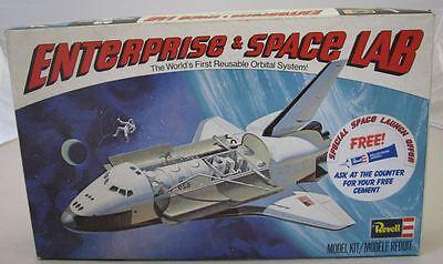 REVELL BAUSATZ 1:144 NASA SPACE SHUTTLE ENTERPRISE Modellbausatz Plastik 1978