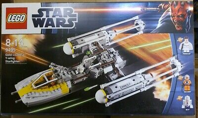 LEGO 9495 STAR WARS GOLD LEADER Y-WING FIGHTER BRAND NEW SEALED
