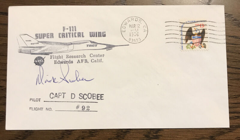 Dick Scobee Signed First Day Cover - Challenger Commander - NASA Astronaut