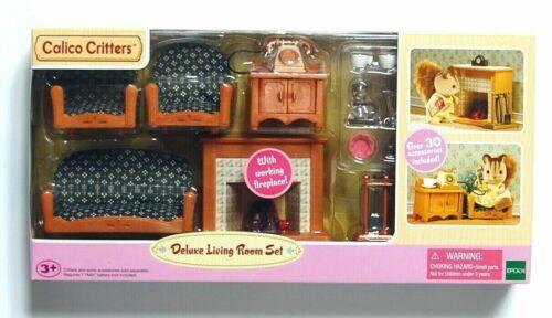 Calico Critters (Sylvanian Families) Deluxe Living Room Set #CC2263 NIB