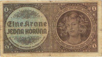 Ro.558a 1 Krone (1940) Böhmen & Mähren (4)