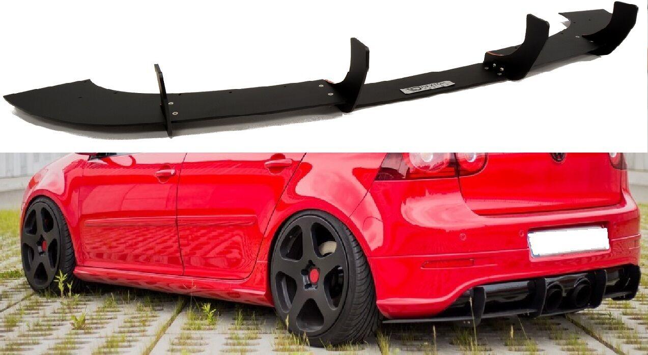 golf 5 r32 tail set diffuser rear apron rear diffuser r. Black Bedroom Furniture Sets. Home Design Ideas