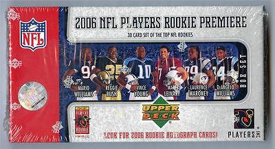 2006 Upper Deck Rookie Premiere 30 Card SEALED BOX SET Autograph ? BUSH Hawk VY