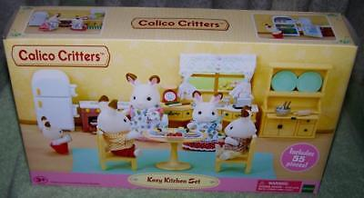 Calico Critters KOZY KITCHEN Set New