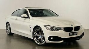 2017 BMW 4 Series F32 430i Sport Line White 8 Speed Sports Automatic Coupe South Melbourne Port Phillip Preview
