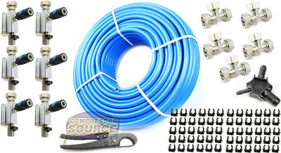 "Rapid Air Maxline 3/4"" Compressed Air Line System Max Line Shop 300' Piping Kit"