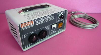 Luxtec 1150 Halogen Fiber Optic Dual Turret Surgical Light Source 150 Watt
