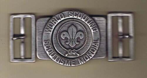 Costa Rica World Scouting Scoutisme Mondial Belt Buckle Cs