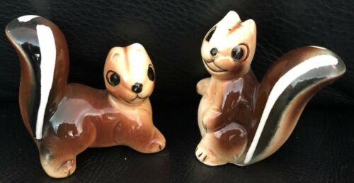 Vintage Ceramic Squirrels or Chipmunk statue/ornaments in EXC