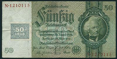 Ro.337a 50 DM 1948 Kuponausgabe (3)