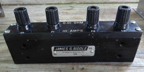 James Biddle 601644-2 Standard Resistor