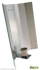 Hammerschlag Reflektor E40 Fassung für NDL MH vormontiert  250 600 400 Watt Grow