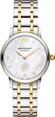 107913   MONTBLANC STAR CLASSIQUE   BRAND NEW & AUTHENTIC WOMENS AUTOMATIC WATCH