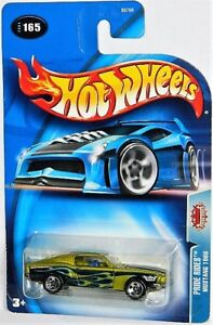 Hot Wheels 1/64 1968 Ford Mustang Diecast Car
