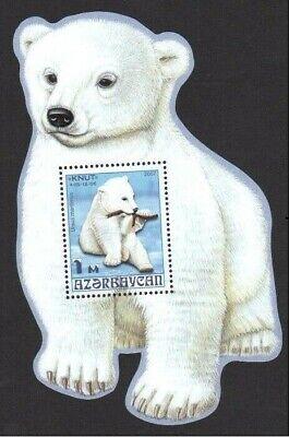 Azerbaijan 2007 * Polar Bear * FAUNA * Figure Block * MNH