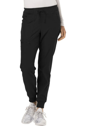 Scrubs HeartSoul The Jogger Low Rise Tapered Leg Pant HS030 BCKH Black Free Ship