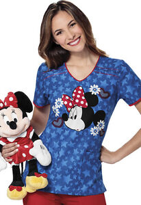 MEDICSTOX CHEROKEE TOONIFORMS DISNEY SCRUB CLOTHING MED UNIFORMS