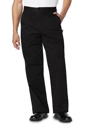 Dc Mens Dress (Dickies Mens Classic Dress Chef Pant Black DC16  )